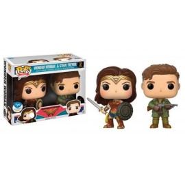 DC POP - Wonder Woman & Steve Trevor 2-pack LIMITED