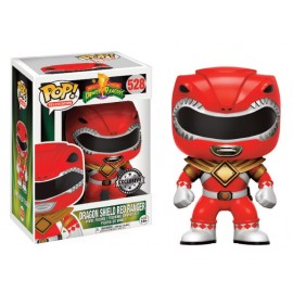 Television 528 POP - Power Rangers - Red Ranger Dragon Shield LIMITED