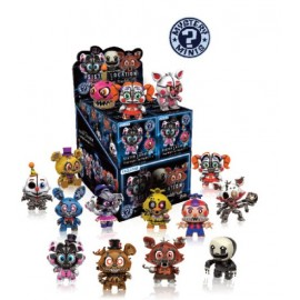 Mystery Mini Figures Display - Friday Night at Freddy's S2 Variant Mix (12)