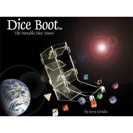 Dice Boot: Portable Dice Rolling Tower