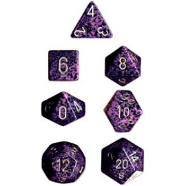 Speckled Polyhedral d10 Sets (10) - Hurricane