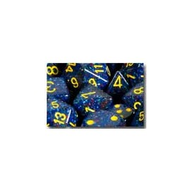 Speckled Polyhedral d10 Sets (10) - Twilight