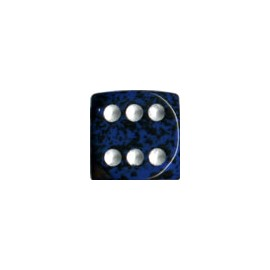 Speckled 12mm d6 with pips Dice Blocks (36 Dice) - Stealth