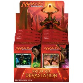 MTG Hour of Devastation Planeswalker Deck Display (6) French