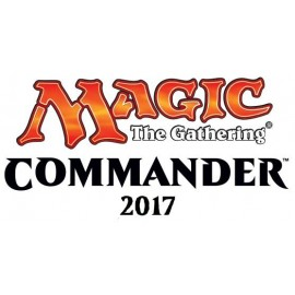 MTG Commander 2017 Display (4) German