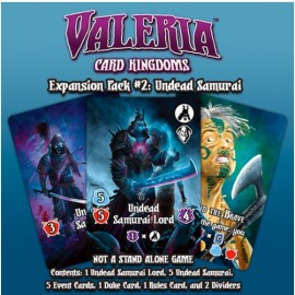 Valeria: Card Kingdoms Exp 2 Undead Samurai
