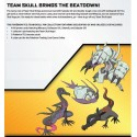 Pokemon 3.5 Shining Legends Team Skull Pin collection