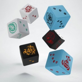 Batman minature game - D6 Suicide Squad Dice set (6)