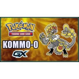 Pokémon Kommo O GX box