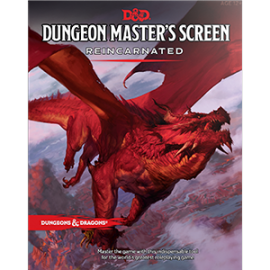 Dungeons & Dragons Next Dungeon Master's Screen Reincarnated