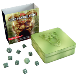 Dungeons & Dragons Tomb of Annihilation dice set