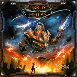 Lords of Hellas boardgame