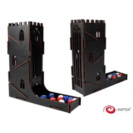 E-Raptor Dice Tower Black Castle