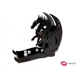 E-Raptor Dice Tower Dragon Black