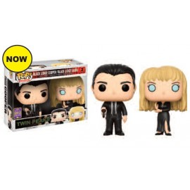 Television POP - Twin Peaks - Agent Cooper & Laura 2-pack SDCC 2017 EXC