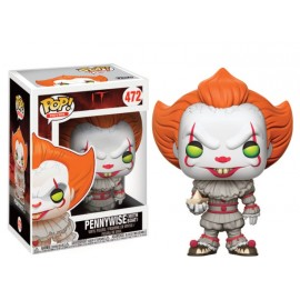 Movies 472 POP - IT - Pennywise with boat
