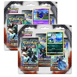 Pokémon Ex Sun & Moon 3 Blister (3p) Eng