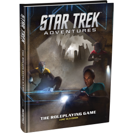 Star Trek Adventures RPG (Licensed Sci-Fi RPG)
