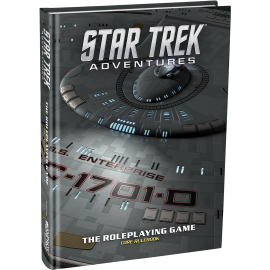 Star Trek Adventures: Core Rulebook Collector's Ed. (Ltd. Ed. Sci-Fi RPG)