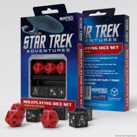 Star Trek Adventures Dice Set: Command Red (Star Trek RPG Dice Sets)