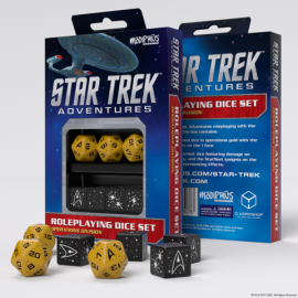 Star Trek Adventures Dice Set: Operations Gold (Star Trek RPG Dice Sets)