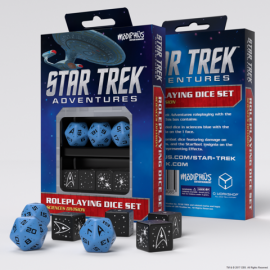 Star Trek Adventures Dice Set: Sciences Blue (Star Trek RPG Dice Sets)
