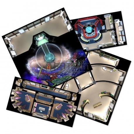 Star Trek Adventures: Next Generation Starfleet Deck Tiles (Star Trek RPG Acc.)