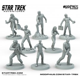 Star Trek Adventures: Next Generation (32MM Minis Box Set)
