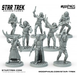 Star Trek Adventures: Klingon Warband (32MM Minis Box Set)