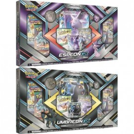 Pokémon Espeon Umbreon Collection GX box