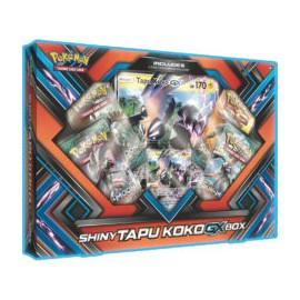 Pokémon Shiny Tapu Koko GX box