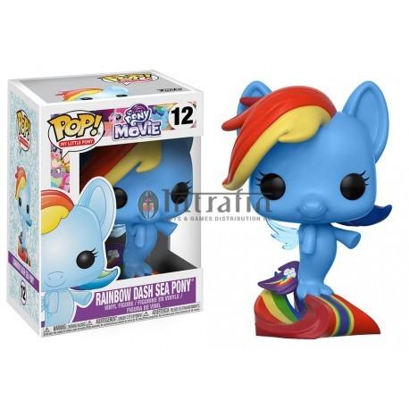 My Little Pony 12 POP - Rainbow Dash Sea Pony