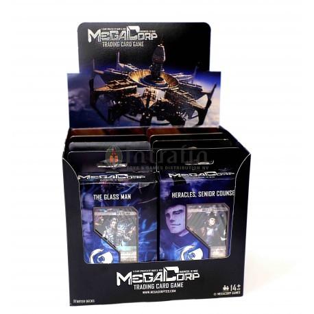 MegaCorp - Business is War - Starter Deck Display (8) ENG