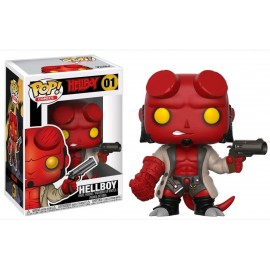 Comics 01 POP - Hellboy - Hellboy with Jacket No Horns