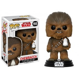 Star Wars 195 POP - Star Wars EP VIII - Chewbacca with Porg