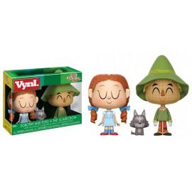 """Vynl. 4"""" - Wizard of Oz - Toto & Scarecrow"""
