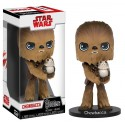 Star Wars EP VIII - Wobblers - Chewbacca with Porg