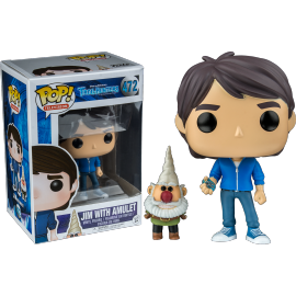 Television 472 POP - Trollhunters - Jim with Amulet EXC