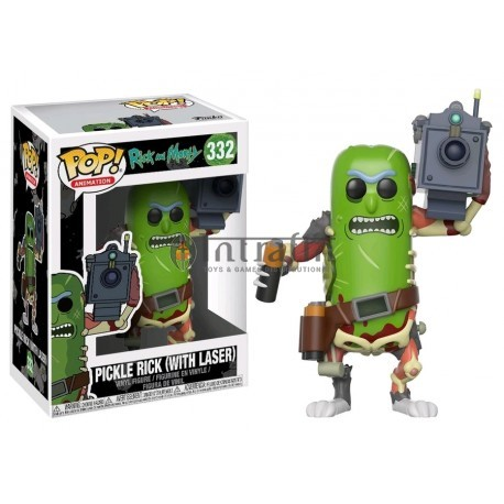 Animation 332 POP - Rick and Morty - Pickle Rick with Laser