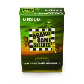Board Game Sleeves - Medium (fits cards of 57x89mm) (10p)
