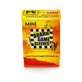 Board Game Sleeves - Mini (fits cards of 41x63mm) (10p)
