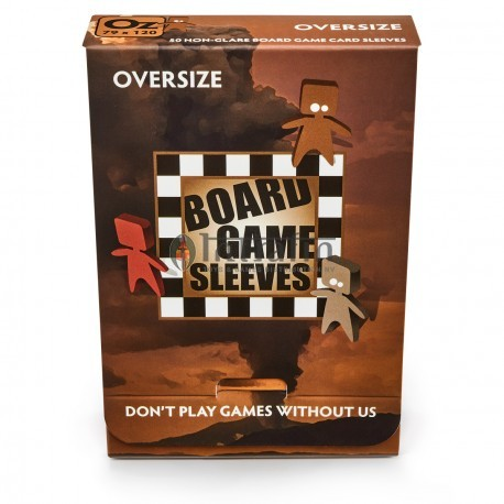 Board Game Sleeves - Oversize (fits cards of 82x124mm) (10p)
