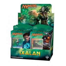 MTG Ixalan Planeswalker Deck Display (6) English