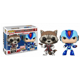 Movies POP - Capcom Vs Marvel - Rocket vs MegaMan 2-pack