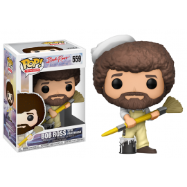 Television 559 POP - Bob Ross - Bob Ross with Paintbrush