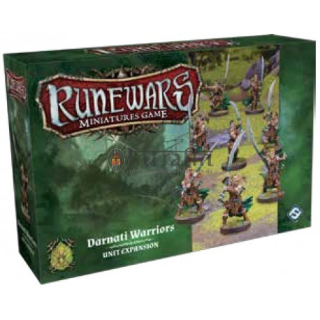 Runewars Miniatures Games:Darnati Warriors Expansion Pack