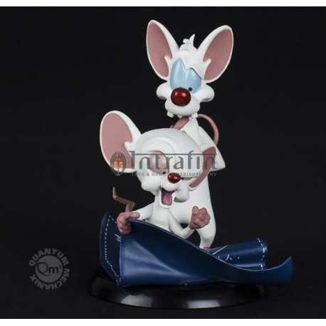 Pinky & The Brain - Taking over the World Q-Fig Figure