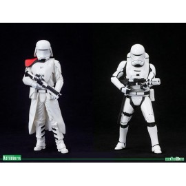 Star Wars - First Order Snowtrooper and Flamtrooper 2 pack statue