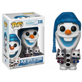 Disney 338 POP - Frozen - Olaf with Kittens