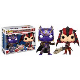 Movies POP - Capcom Vs Marvel - Black Panther vs Monster Hunter 2-pack